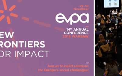 EVPA Annual Conference 2018 The ultimate networking and learning event